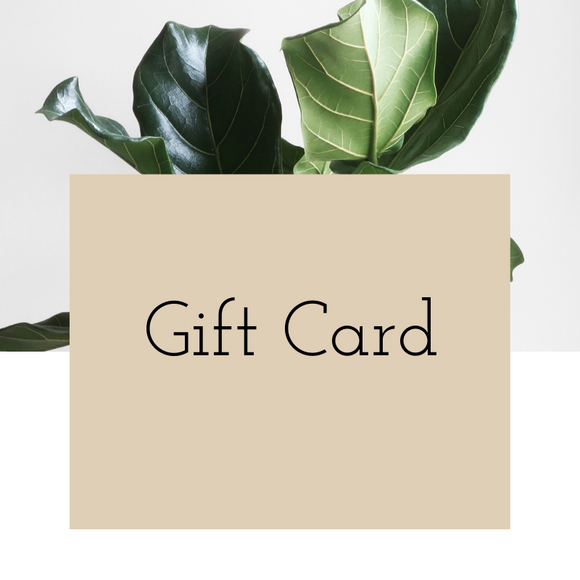 Gift Card ($25,$50,$100)
