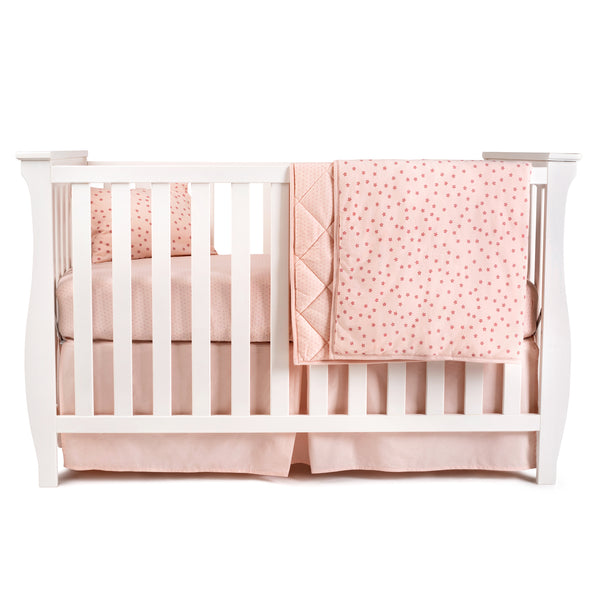 Four Piece Baby Crib Set I Floral Design