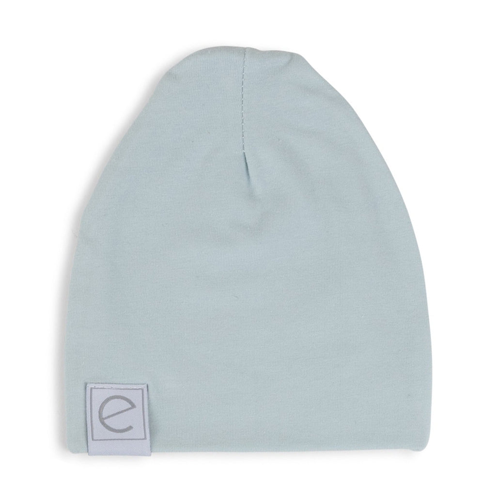 Jersey Cotton Beanie Hat - Baby Blue