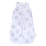Wearable Blanket / Baby Sleep Bag I Grey Dottie