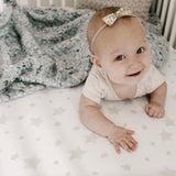 Crib Sheet Set - Tan Drawn Star