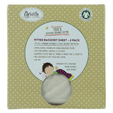 Organic Bassinet Sheet I Natural