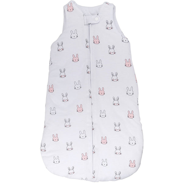 Baby Wearable Blanket / Sleep Bag I Pink Bunnies