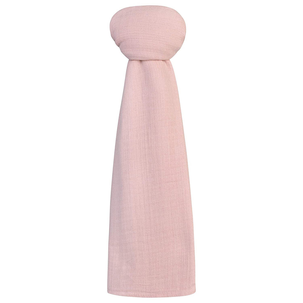 Cotton Muslin Swaddle Blanket - Petal Pink