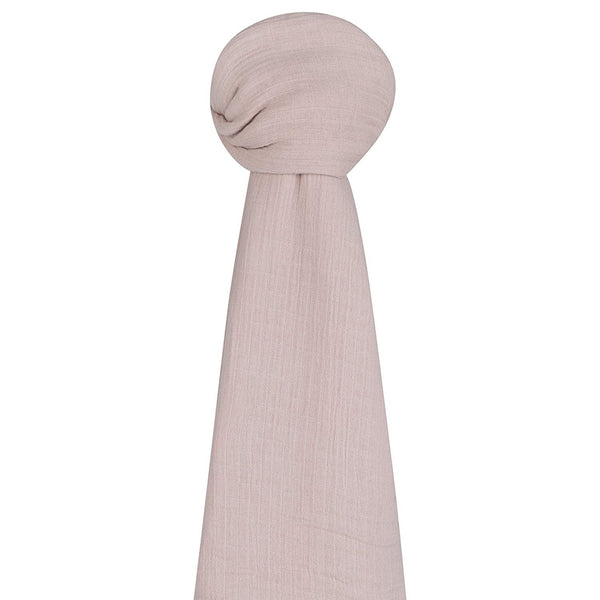 Cotton Muslin Swaddle Blanket - Rosewater Pink