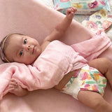 Waterproof Plush Changing Pad Cover I Pink Velvet