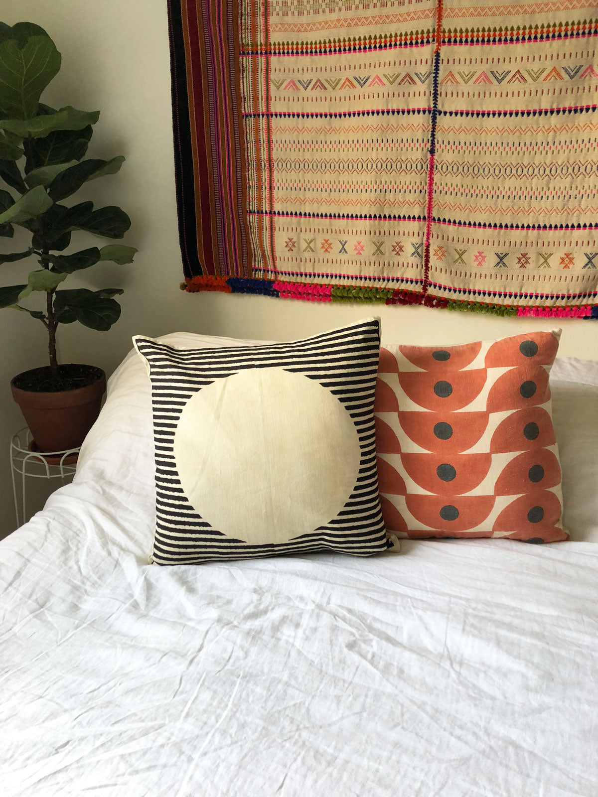 TERRACOTTA PILLOW