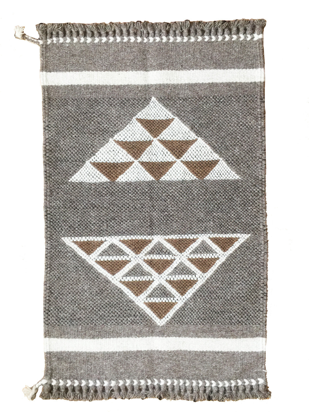 Handwoven wall hangings and rugs! 100% undyed sheep wool. Made by master weavers in Kutch, India.