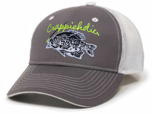 HEADWEAR Crappieholic ODC GWT101M Grey