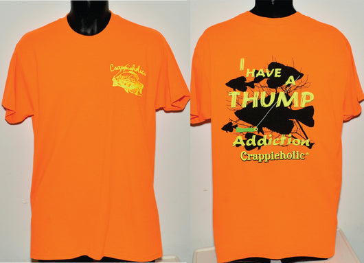 Crappieholic Thump Addiction Orange