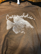 Crappieholic Bella Canvas light weight tee