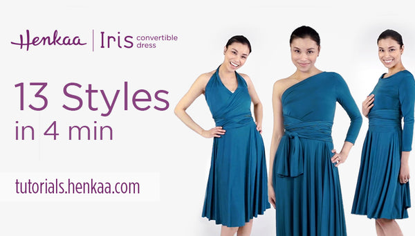 13 Ways to Wear the Iris Convertible Dress