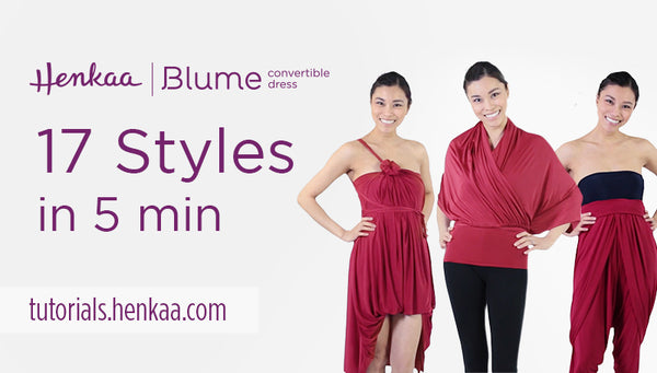 17 Ways to Wear the Blume Convertible Dress