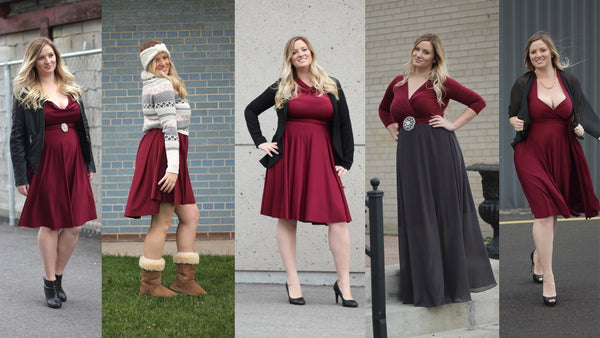 One Dress Five Ways For the Holidays