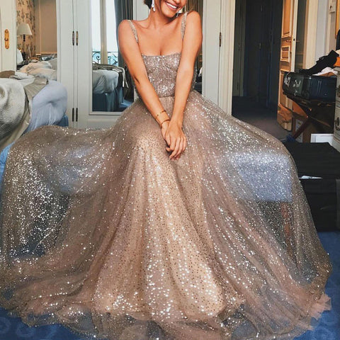 For prom 2019 its all about the sparkle.
