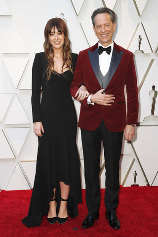 Richard E. Grant and daughter Olivia Grant on the Oscars 2019 red carpet.