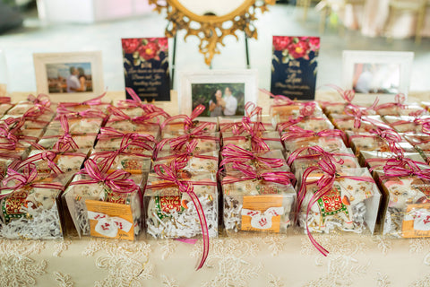Henkaa A Bride's Story: Diana & Jas. Multicultural wedding favors.