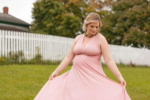 Henkaa Dusty Rose Infinity Dress