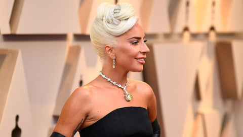 Lady Gaga on the 2019 Oscars Red Carpet