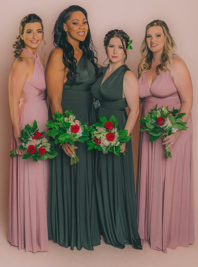 0e69b50e61b Henkaa - Best convertible infinity dresses for bridesmaids and beyond