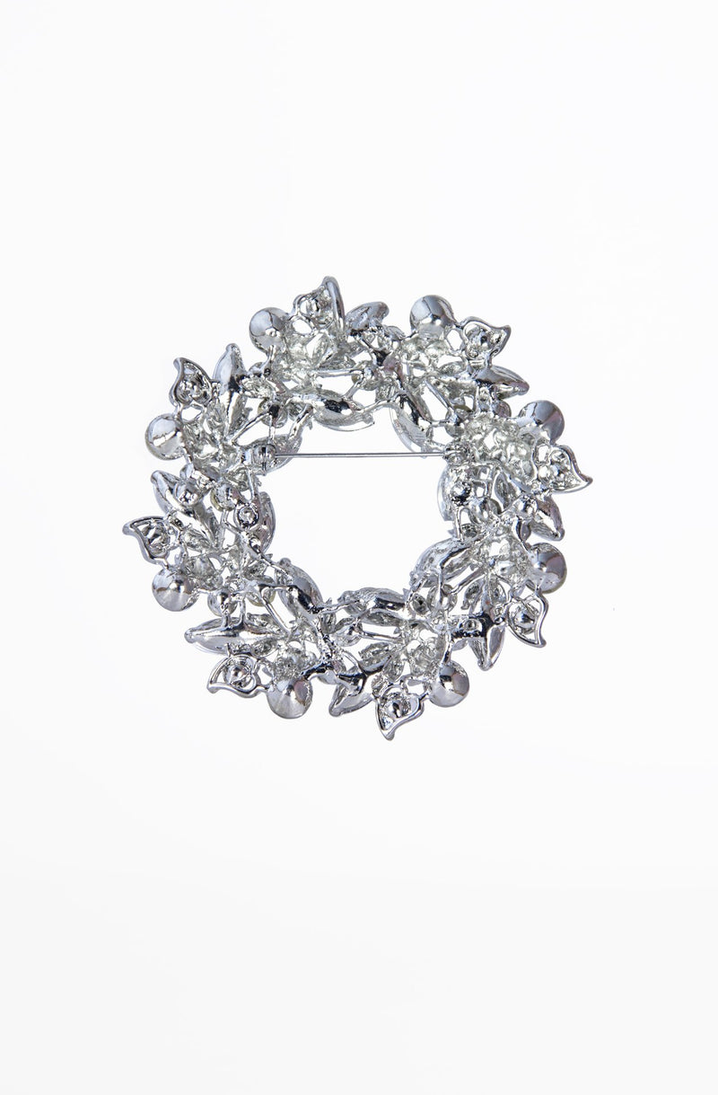 Brooches & Jewelry - Wreath Brooch