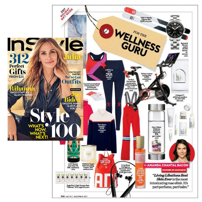Gem-Water Makes InStyle's Gift Guide for Your Favorite Wellness Guru