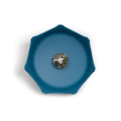 Ocean Blue Gem-Water Pet Bowl by VitaJuwel