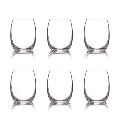 Set of 6 Handblown Drinking Glasses