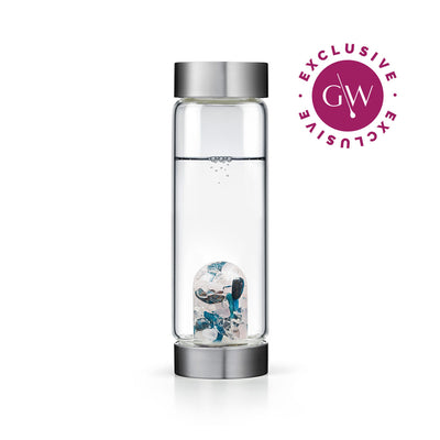 Body & Soul EXCLUSIVE Gem-Water Bottle by VitaJuwel