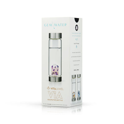 Packaging for ViA Gem-Water Bottle by VitaJuwel