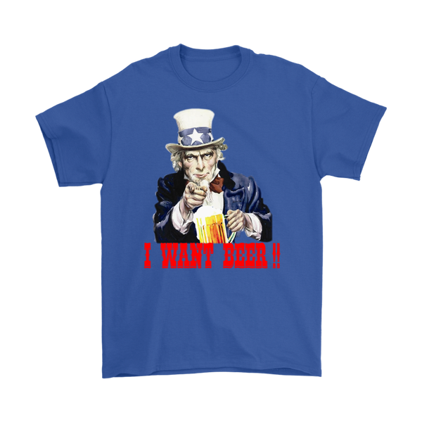 UNCLE SAM I WANT BEER TEE