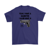 GLOCK AND DAUGHTER TEE