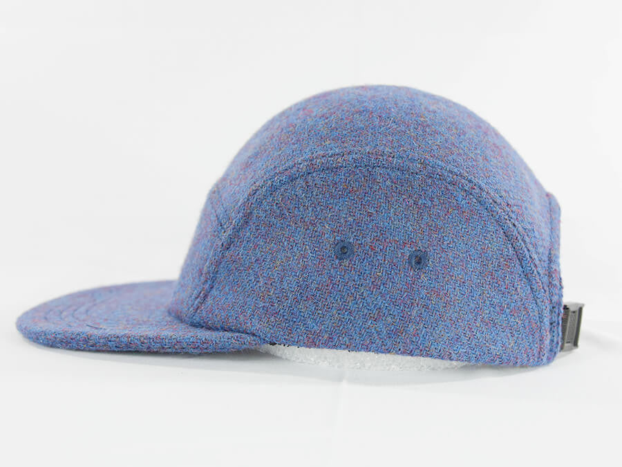 Break North Blue Harris Tweed Camper Hat - Break North