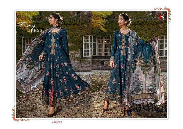 Maria B Georgette Embroidered ID02121 (Indian)
