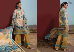 Firdous Cotton Embroidered Lawn ID02046 (Pakistani)