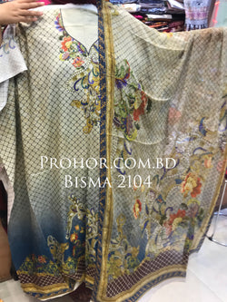 Bisma Cotton Lawn ID02104 (Pakistani)