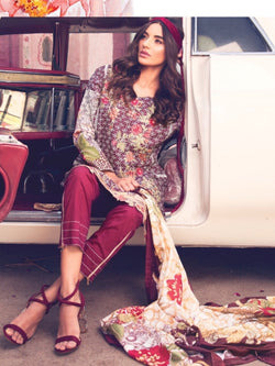 Pakistani Cotton Salwar Suits ID0906