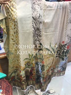 Digital Printed Lawn ID02001