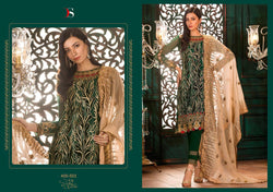 Gulbano Georgette Embroidered ID02115 (Indian)