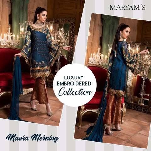 Luxury Maryam's Gold ID02089 (Pakistani)