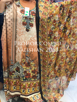 Aalishan Cotton Lawn ID02063 (Pakistani)