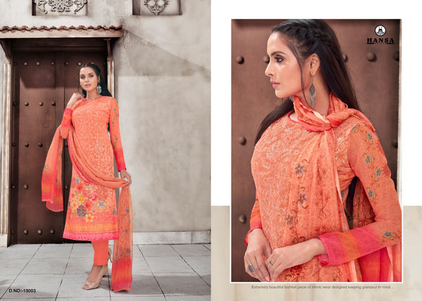 Hansa Georgette Salwar Kameez ID02125 (Indian)