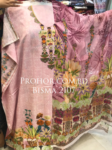 Bisma Cotton Lawn ID02107 (Pakistani)