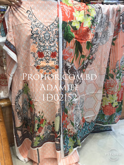 Cotton Embroidered Lawn ID02152 (Pakistani)