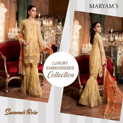 Luxury Maryam's Gold ID02078 (Pakistani)