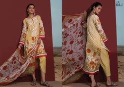 Firdous Cotton Embroidered Lawn ID02035 (Pakistani)