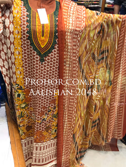 Aalishan Cotton Lawn ID02048 (Pakistani)