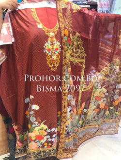 Bisma Cotton Lawn ID02097 (Pakistani)
