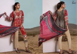 Firdous Cotton Embroidered Lawn ID02034 (Pakistani)