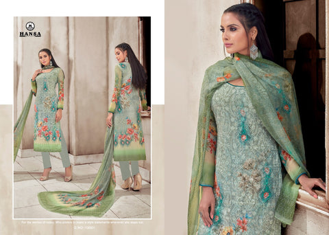 Hansa Georgette Salwar Kameez ID02124 (Indian)